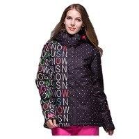Брендовые женские сноубордические куртки для зимы, теплые, до середины бедра, спортивная одежда высокого качества, спортивная куртка