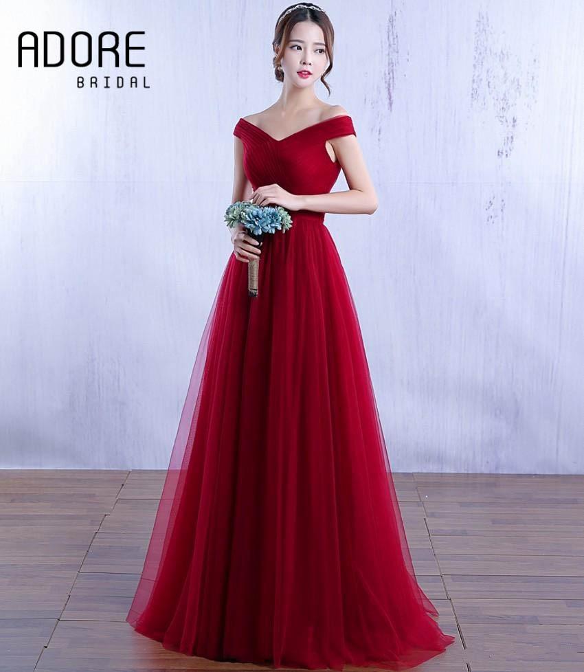 2017 New Arrival Off Shoulder Long Evening Dresses