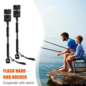 Image 5 - 2pcs/Bag Carp Fishing Bite Alarms and LED Fishing Swinger Illuminated Carp Fishing Alarm Set 7 Color Indicator Fishing Tackle