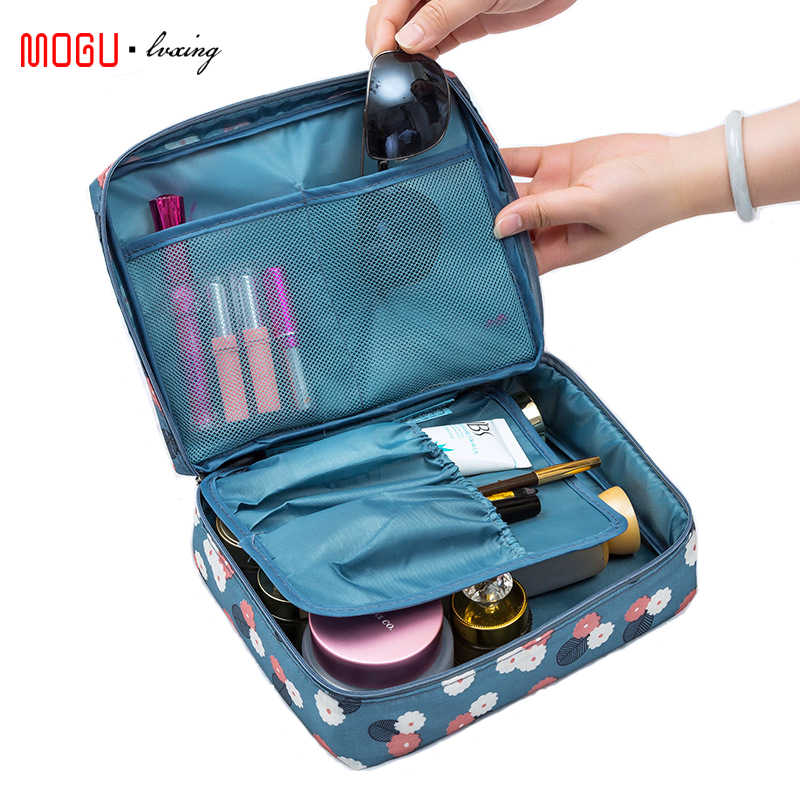 MOGULVXING All'aperto Donne di Trucco del Sacchetto Multi Sacchetto Cosmetico Beauty Case Make Up Organizer Zipper Toilette Kit Da Viaggio del Sacchetto di Immagazzinaggio Del Sacchetto