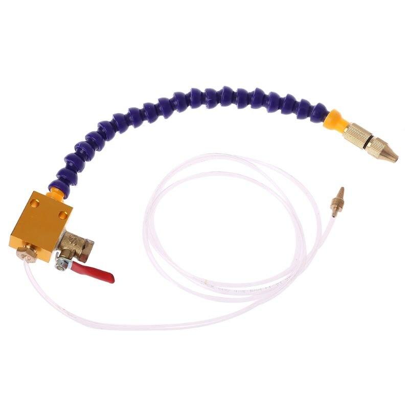 Blau Nebel Kühlmittel Schmierung Spray System Einheit für CNC Drehmaschine Fräsen Maschine