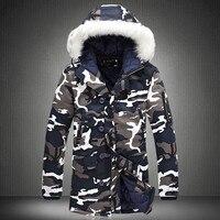 Winter Jacket Men 2019 Hot Sale Camouflage Army Thick Warm Coat Men's Parka Coat Male Fashion Hooded Parkas Men M 4XL Plus Size