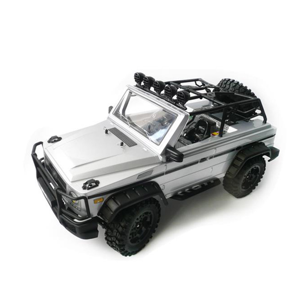 HG-P402 2.4G 1/10 4WD RC Buggy Trcuk Professional Rock Crawler Two Speed Switch Gearbox Adjustable Wheelbase RTR hg p401 p402 p601 rc car wheel drive gear h01002