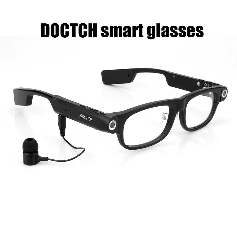 Built In Glasses With Camera