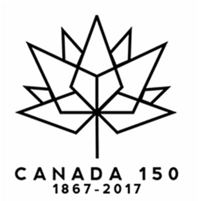 Wall Decal Vinyl Pvc Sticker Canada 150 Anniversary Logo