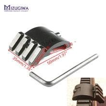 Ultra perfil baixo offset picatinny montagem em trilho 45 graus 3 slot 20mm adaptador weaver ar 15 escopo vermelho dot lupa lanternas