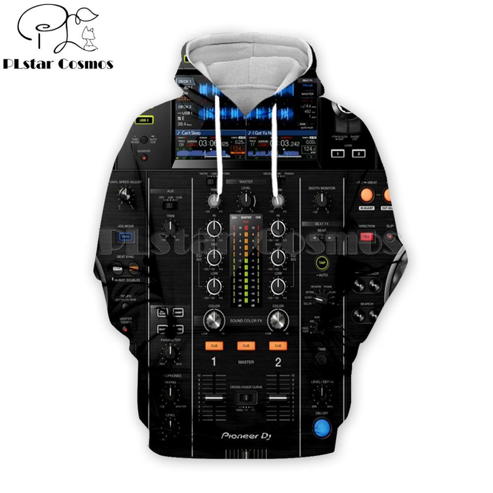 PLstar Cosmos Drop Shipping Ableton Live Crewneck Fashion Hoodies DJ Disco 3D Printed Hoodie Unisex Streetwear Sudadera Hombre
