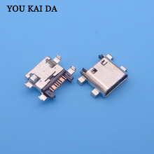 200 pcs 7pin 7 pin voor Samsung Galaxy Grand Prime G530 G7102 G7106 G350 i8262 S7582 micro usb jack opladen connector socket poort