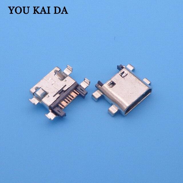 200pcs 7pin 7 pin for Samsung Galaxy Grand Prime G530 G7102 G7106 G350 i8262 S7582 micro usb jack charging connector socket port