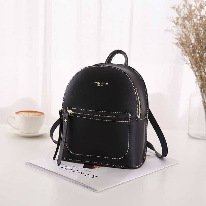 Fanous/брендовый маленький рюкзак для девочек-подростков, модная повседневная кожаная сумка на плечо для женщин, 2019 Мини-сумка, маленькие детские сумки