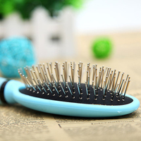 Cat Pet Brush Dog Grooming Steel Cleaner Comb Handy Pet Hair Removal Brush Combs Pulgas Dogs Piojos Small Pets Supplies 70A0741