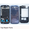 Original Blue Full Housing Cover Case+Middle Bezel Frame+Back Cover Case For Samsung Galaxy S3 i9305