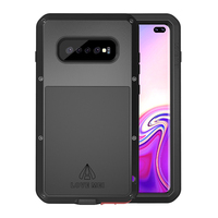 Metal Armor Waterproof Dustproof Shockproof Rugged Full Body Cover for Samsung Galaxy S10 Plus S10e S10 Outdoor Sport Phone Case