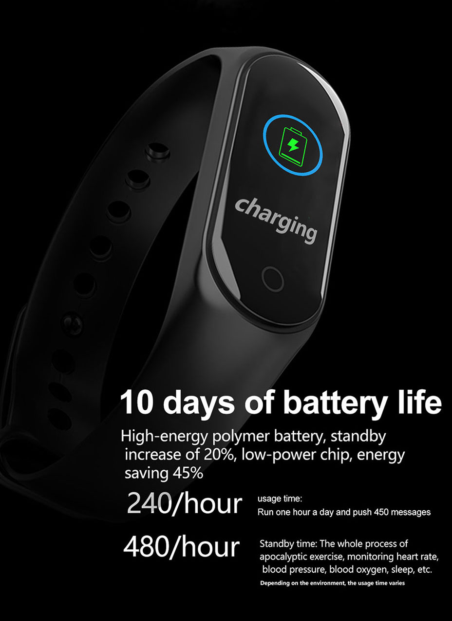 COLMI M3S Smart Bracelet Color-screen Fitness Tracker blood pressure Heart Rate Monitor sleep tracker Wristband For Android IOS 15
