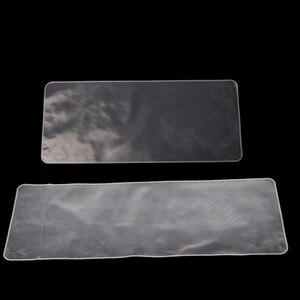 Ultra-fino transparente impermeável teclado portátil protetora silicone poeira-prova filme 14,15/17 Polegada