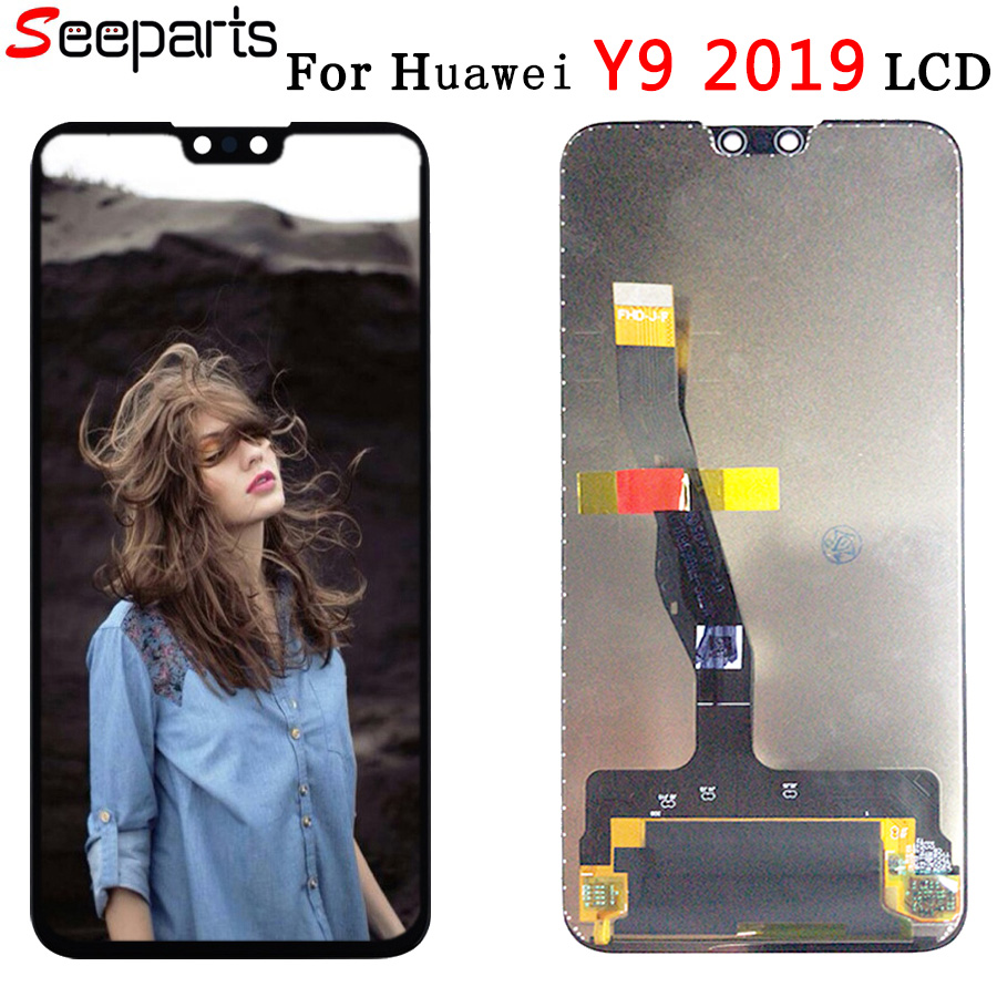 6.5''Original For Huawei Y9 2019 LCD Display Touch Screen Digitizer Assembly Replacement for huawei enjoy 9 plus JKM-LX1LX2LX3