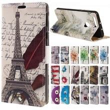 Pour Huawei Honor 8 Cas Tour Eiffel Porte-Monnaie En Cuir Flip Carte titulaire Cas de Couverture de la sfor Huawei Honor 8 5.2 pouces mobile téléphone cas