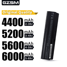 HSW 5200MAH New Battery for HP Compaq Presario CQ42 CQ32 G42 G62 G72 for Pavilion DV3 DM4 DV5 DV6 DV7 G4 G6 G7 MU06 593553-001 hsw 06 quality ac adapter charger for hp 19v 4 74a 90w 463955 001 609940 001 ppp012h s pavilion dv3 dv4 dv5 g4 g6 g7