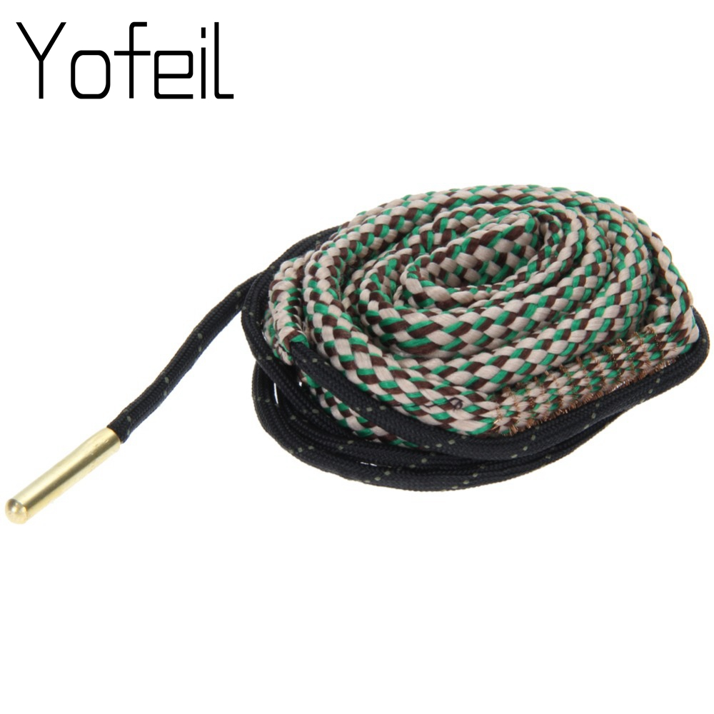 1pcs Bore Snake Rope Gun Rifle Cleaning  30 Cal .308 303 & 7.62mm Cord Kit Hunting  Accessories Outdoor Travel Kits