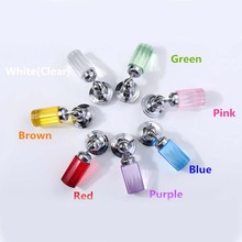 45mm High Crystal Kitchen cabinet handles Discus crystal drawer knobs silver tv table dresser cuoboard furniture