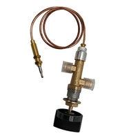 Propan lpg gas feuer pit control sicherheit ventil flamme ausfall gerät cock gas heizung ventil mit thermoelement und knopf-in Gas-Heizung-Teile aus Haushaltsgeräte bei