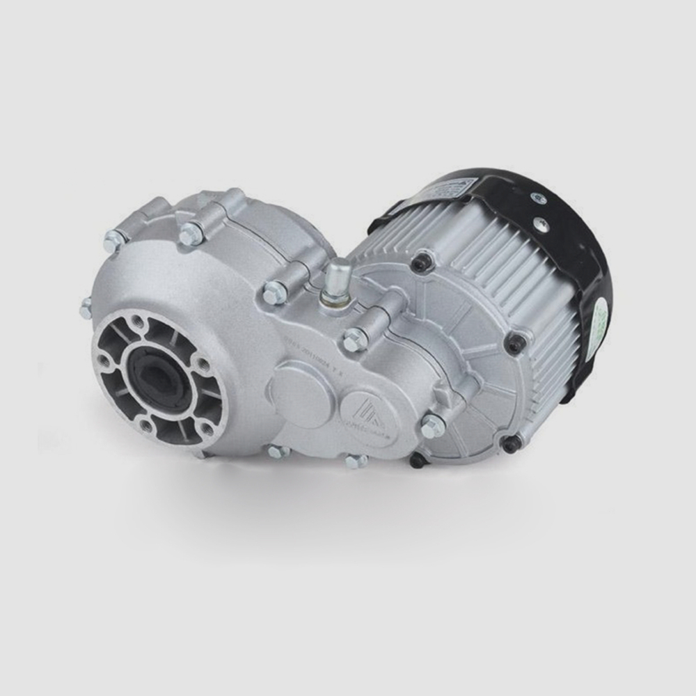 The elderly leisure car body rear axle differential motor BM1418HQF(BLDC) 650W 48V jd 90 rear middle metal axle with differential lock