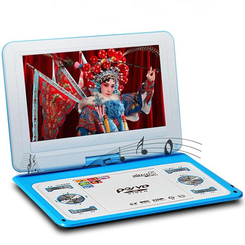 HD veliki ekran 14-inčni video DVD player Prijenosni DVD Podrška - Kućni audio i video - Foto 3
