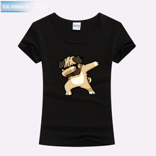 Funny Dogs&Cat Dabbing Dab Pose Animal Cartoon 3D Printed T Shirts Cotton Women Summer Top Quality Hipster Hip Hop Tee Shirt цена