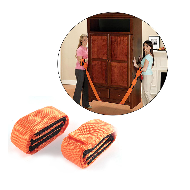 2Pcs/Set Lifting Moving Strap Furniture Forearm Delivery Transport Rope Belt Mover Wrist Straps Carrying House Heavy Object Move