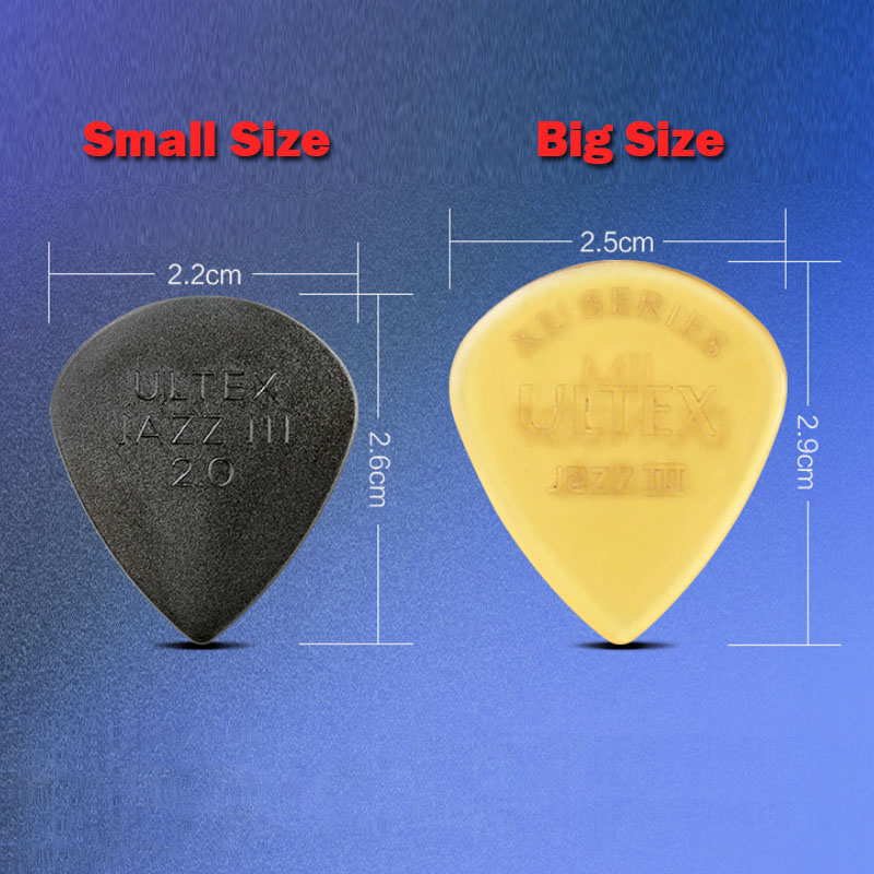 Купить с кэшбэком Dunlop Jazz III Guitar Picks Ultex Guitar Parts Accessory Bass Mediator Acoustic Electric Accessories Classic Guitar Picks