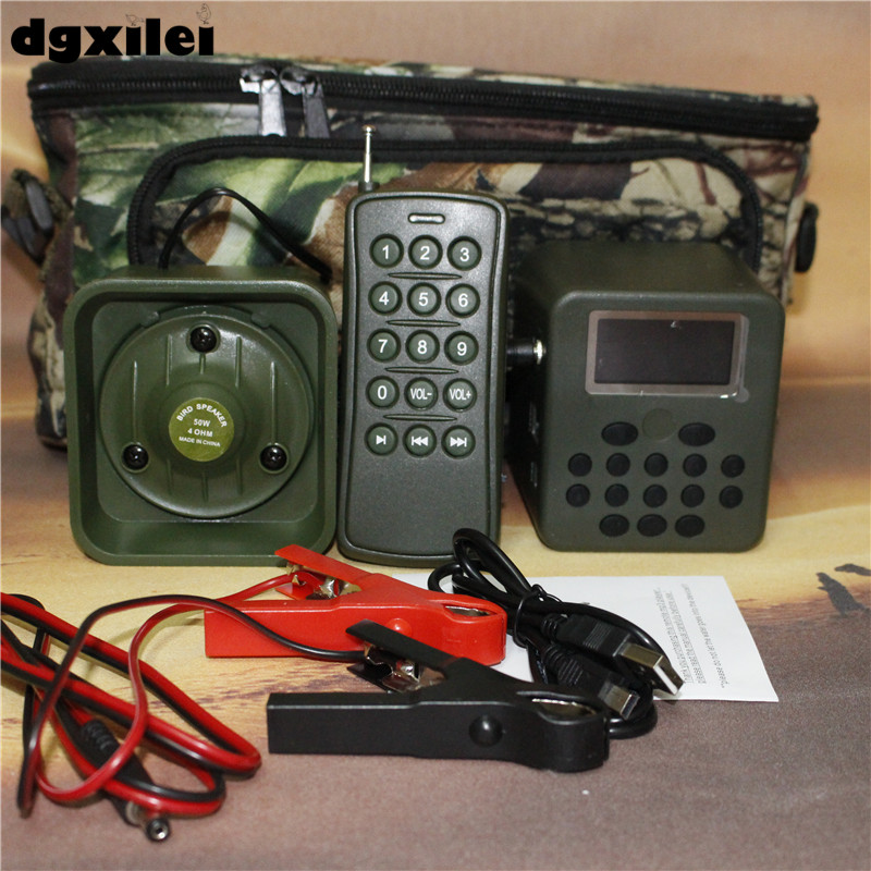 Xilei Outdoors Hunting Bird Caller 50W 150Db Remote Control 898B Mp3 Player Outdoor With Timer