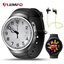 Lemfo LES1 Smartwatch teléfono Android 5.1 OS GPS Reloj inteligente con 1 GB + 16 GB GPS WIFI Rastreador de Ejercicios para IOS Android Smartphone