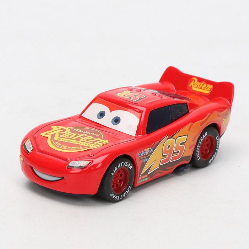9 см Дисней Pixar тачки 3 Молния Маккуин матер Джексон шторм Рамирез 1:55 литая под давлением металлическая игрушка модель автомобиля подарки для мальчиков