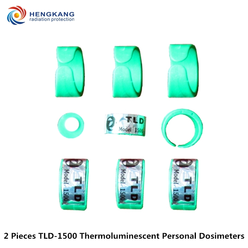 tld dozimetr cena - factory direct selling 2 pieces TLD-1500 Ring-type personal thermoluminescent dosimeter nuclear radiation Cumulative dose card