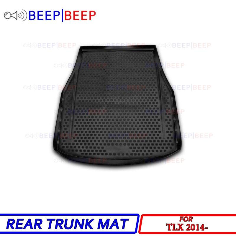 For Acura TLX 2014 Car Trunk Mat Rear Inner Boot Cargo