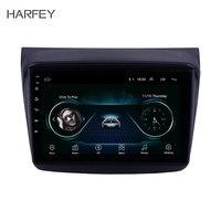 Harfey HD сенсорный экран 9 Android 8,1 автомобиль gps радио для MITSUBISHI PAJERO Montero Sport/L200/2006 + Тритон/2008 + PAJERO 2010 Bluetooth SWC