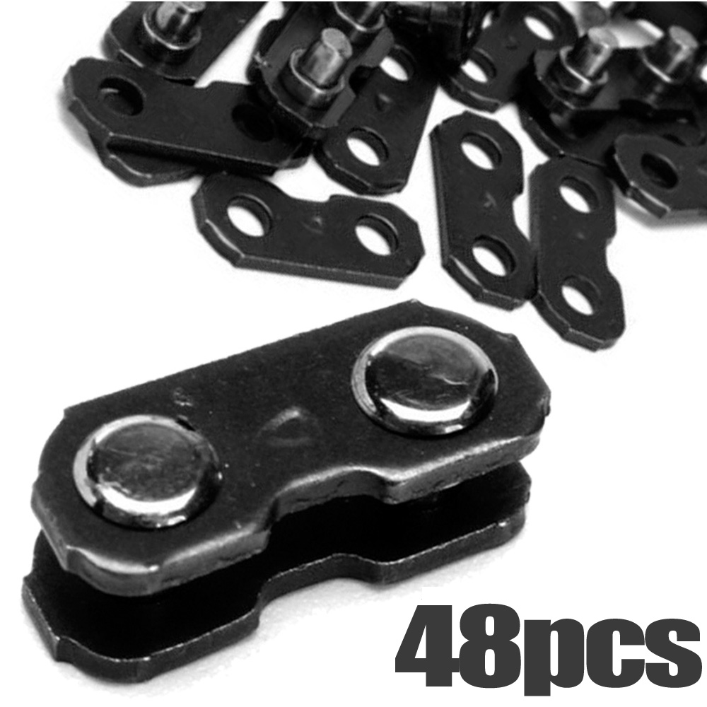 2019 Chain Links 3/8 Chainsaw Chain Links For Oregon Type#72#73 Repair Preset Straps 050-058