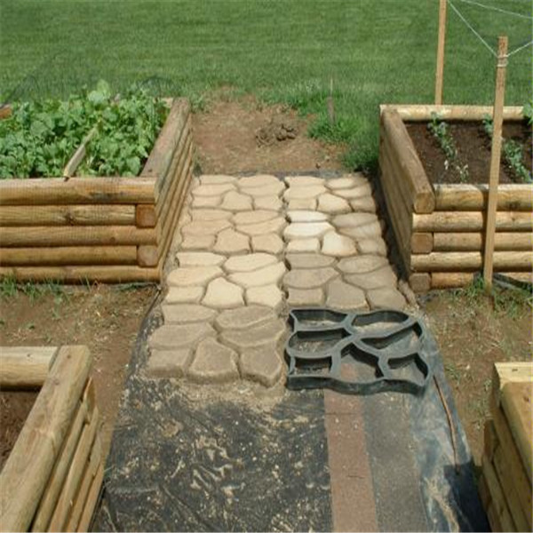 50*50*4.5cm BIG Garden DIY Plastic Path Maker Mold Road Paving Cement Mould  Brick Decor Path Stepping Step Stone Maker Mold In Garden Floor Boards From  Home ...
