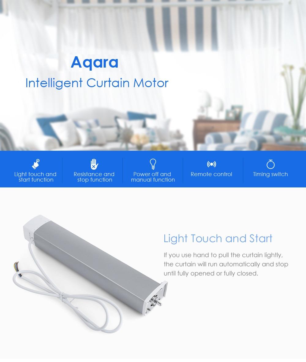 Original Xiaomi Aqara Intelligent Curtain Motor Smart Home Device ZigBee Wireless