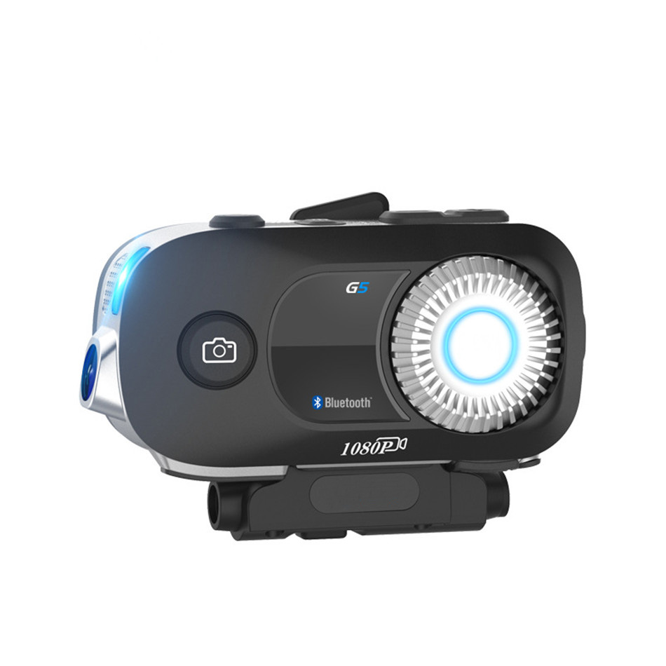 Casque de moto G5-500 casque Bluetooth G5 enregistreur de conduite caméra HD interphone sans fil étanche