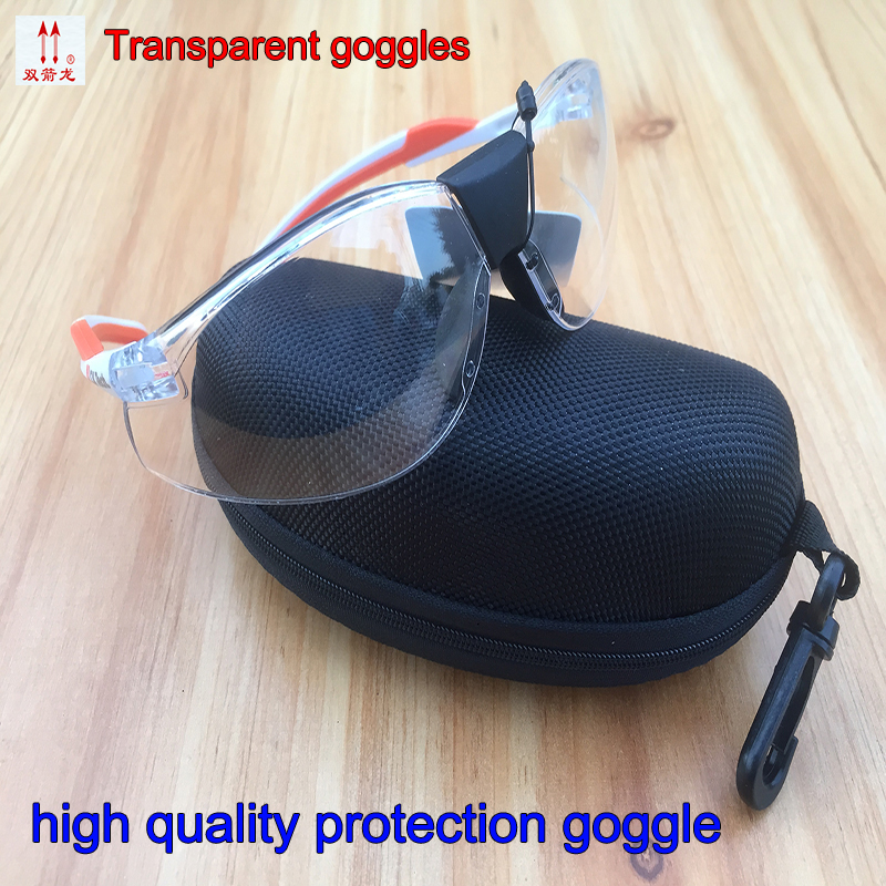 цена на 2097F protective glasses safety high quality Transparent safety goggles Wind and dust Anti-shock Ride outdoor protection glasses
