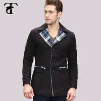 Custom Wholesale 70 Wool Mens Wool Blend Tweed Blazer Men S Fashion Wool Tail Jacket Blazer