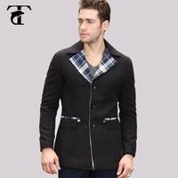Custom Wholesale 70 Wool Mens Wool Blend Tweed Blazer Men S Fashion Wool Tail Jacket Blazer