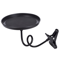 Newest Portble Travel Foot Drink Cup Coffee Table Stand Food Tray Mount Holder Stand Auto Car