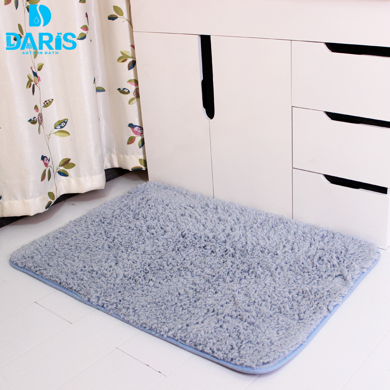 Can Bathroom Rugs Go In The Dryer: DARIS Dry Faster Microfiber Bath Mat Toilet Mat Bedroom
