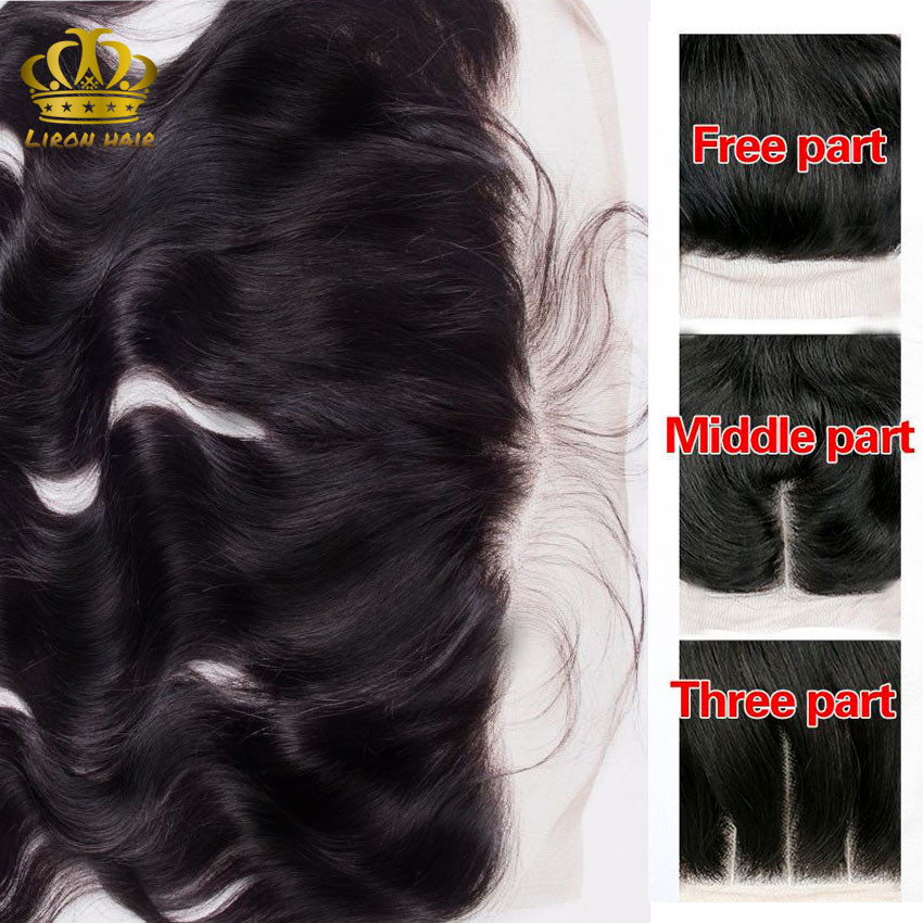 Malaysian Body Wave With Frontal Closure 3 Bundles 8a 13x4 Body Wave Lace Frontal Malaysian Virgin Hair With Closure H&J Hair (10)