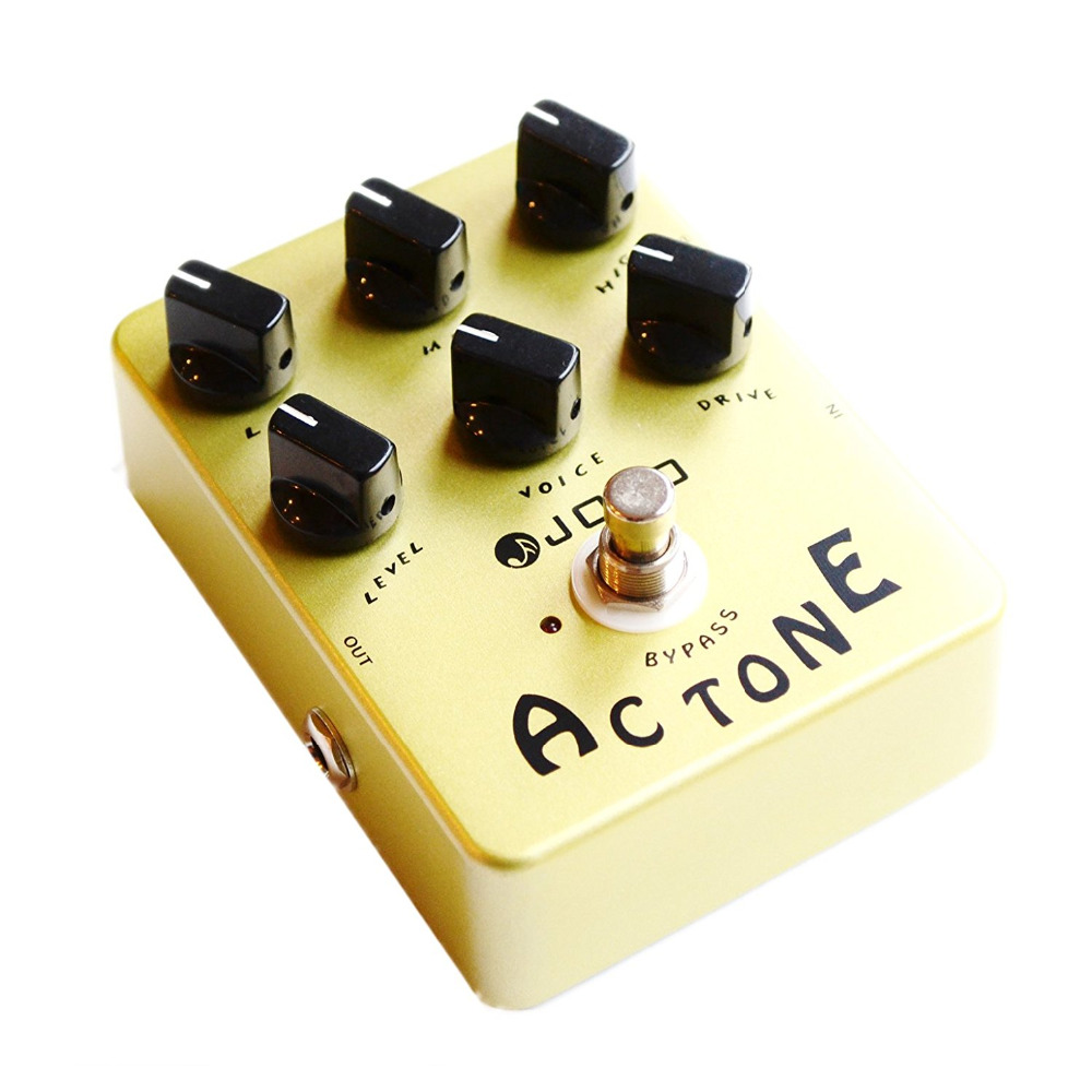 JOYO JF-13 AC Tone Guitar Effect Pedal Classic British Rock Sound Reproduces The Sound Of A Vox AC30 Amplifier