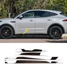 For Jaguar E-Pace E PACE 2018 2019 Car Stainless Steel Chrome Exterior Side Door Decoration Strip Trim 4pcs