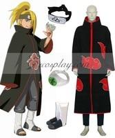 Naruto Akatsuki Deidara Deluxe Cosplay Kostuum Set E001