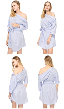Summer Shirt Half Sleeve Dress